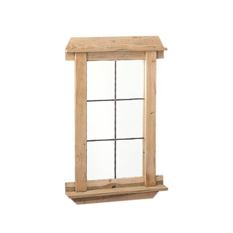 Deco spiegel 60 x 98 cm lenferink hout handelsonderneming - Deco spiegel ...